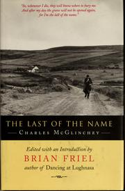 Cover of: The last of the name