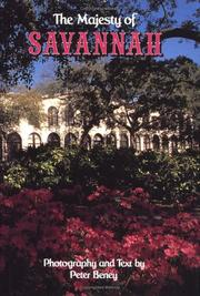 Cover of: The majesty of Savannah