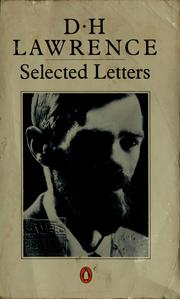 Letters by D. H. Lawrence