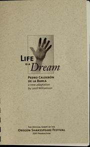 Cover of: Life is a dream