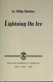 Cover of: Lightning on ice | Philip Harkins