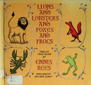 Cover of: Lions and Lobsters and Foxes and Frogs