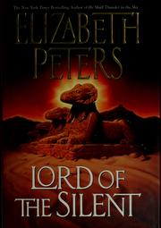 Cover of: Lord of the silent