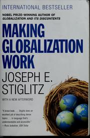 Cover of: Making globalization work