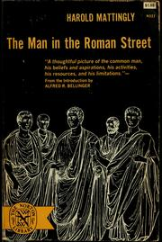 Cover of: The man in the Roman street