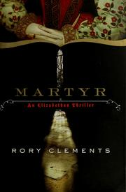 Cover of: Martyr | Rory Clements