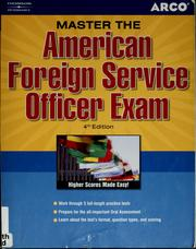 Master the American foreign service officer exam