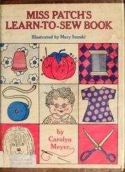 Cover of: Miss Patch's learn-to-sew book