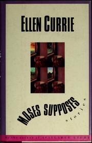 Cover of: Moses supposes