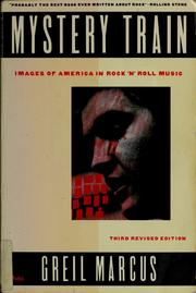 Cover of: Mystery train