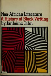 Cover of: Neo-African literature