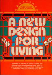 Cover of: A new design for living