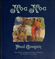 Cover of: Noa Noa