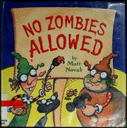 Cover of: No zombies allowed