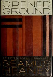 Cover of: Opened ground