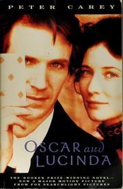 Cover of: Oscar & Lucinda