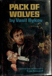 Cover of: Pack of wolves