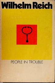 People in trouble by Wilhelm Reich