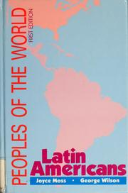 Cover of: Peoples of the world