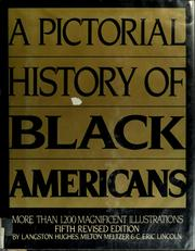 Cover of: A pictorial history of Blackamericans