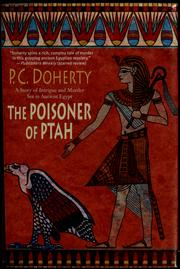 Cover of: The poisoner of Ptah