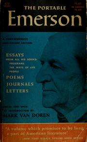 Cover of: The portable Emerson