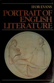 Cover of: Portrait of English literature