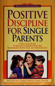 Cover of: Positive discipline for single parents