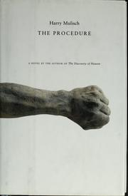 Cover of: Procedure