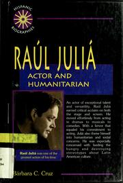 Cover of: Raul Julia