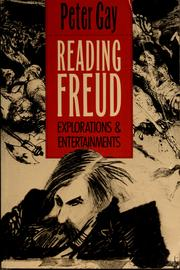 Cover of: Reading Freud