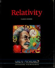 Cover of: Relativity