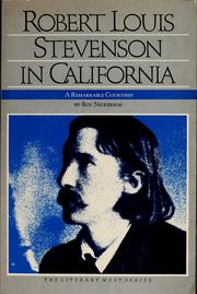 Cover of: Robert Louis Stevenson in California | Roy Nickerson