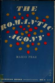 Cover of: The romantic agony