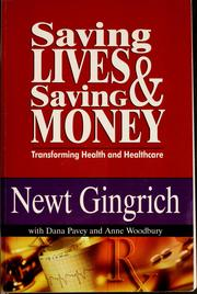 Cover of: Saving lives & saving money