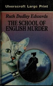 Cover of: The school of English murder