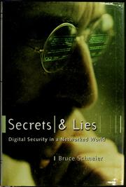 Cover of: Secrets and lies