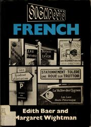 Cover of: Signposts French | Edith Baer