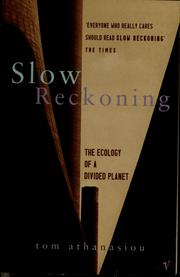 Cover of: Slow reckoning