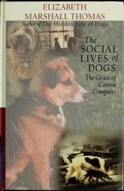 a review of the hidden life of dogs by elizabeth marshall thomas Culture book review / absolutely mad about barking: 'the hidden life of dogs' elizabeth marshall thomas: weidenfeld, 1250 pounds polly devlin saturday 21 may 1994 23:02 bst.
