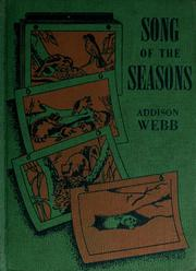 Cover of: Song of the seasons | Addison Webb
