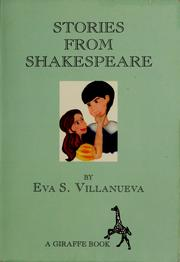 Cover of: Stories from Shakespeare | Eva S. Villanueva