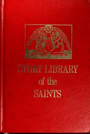Cover of: Story library of the saints | Joan Windham