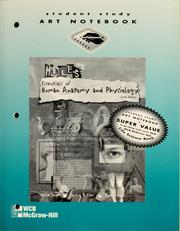 Cover of: Student study art notebook to accompany Hole's essentials of human anatomy & physiology