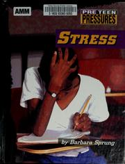Cover of: Stress | Barbara Sprung