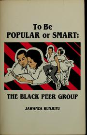 Cover of: To be popular or smart