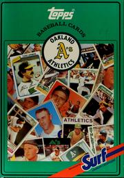 Cover of: Topp's Baseball cards of the Oakland Athletics
