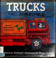 Cover of: Trucks | Patricia Hubbell