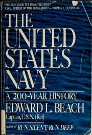 Cover of: The United States Navy