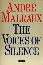 Cover of: The voices of silence